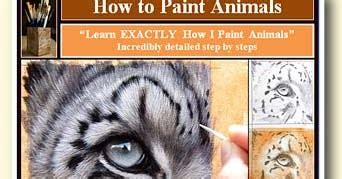 learn to paint in 5 steps and unleash your creative spirit creative spirits books learn to paint animals and fur learn to paint wildlife