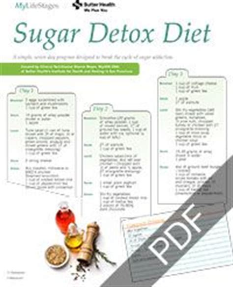 Detox Management by Free Grocery List Printable Diy
