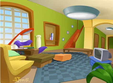 living room cartoon empty living room cartoon