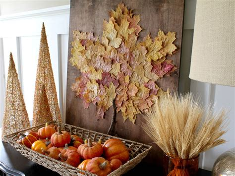 diy fall decorating projects 26 fall leaf crafts diy decorating projects with leaves