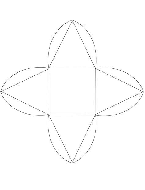 moldes de cajas de regalo triangulares para imprimir cajitas para envolver regalos manualidades para ni 241 os