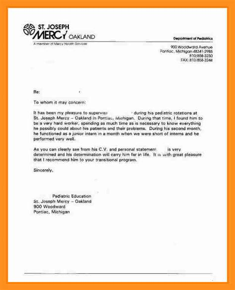 Examples Of Job Resume by 8 Basic Letter Of Recommendation Scholarship Letter