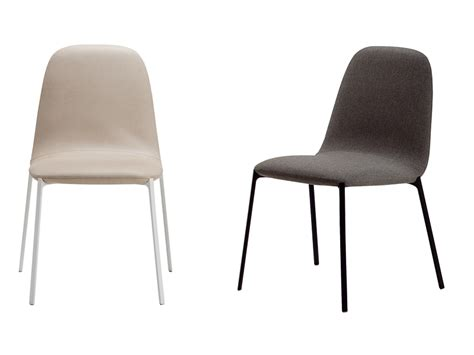 Upholstered Chair Covers Upholstered Chair With Removable Cover Ella By Zanotta