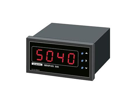 Panel Meter Universal Digital Panel Meter Minipan 300 Ziehl
