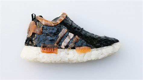 sushi sneakers  weirdly amazing food wine