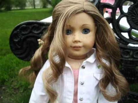 american girl hairstyles youtube american girl doll springtime hair styles and outfits