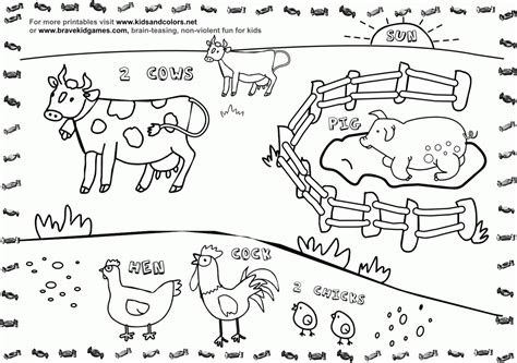 coloring pages of animals that are printable animal farm coloring pages bestofcoloring