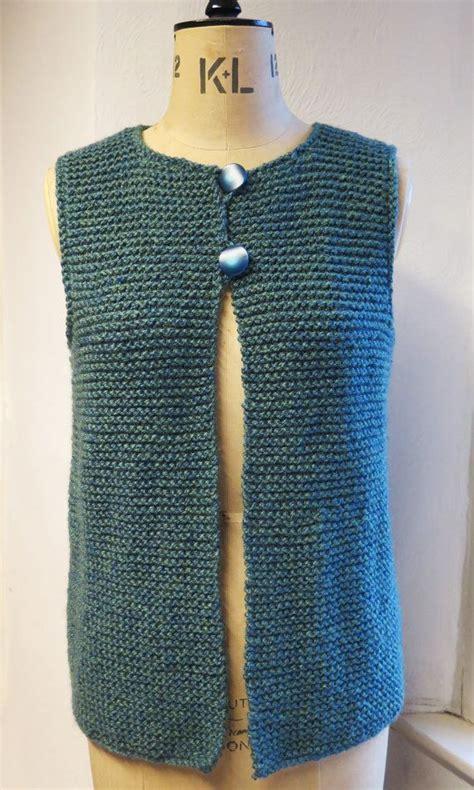 free vest knitting patterns easy 17 best ideas about knit vest pattern on knit