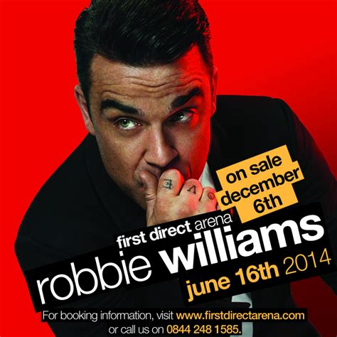 robbie williams swing tour robbie williams swings both ways tour june 16th 2014