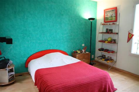 chambre turquoise deco chambre ado bleu turquoise visuel 4
