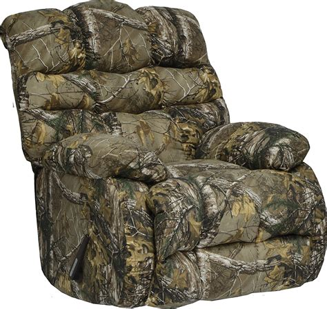 Cheap Camouflage Recliner by Duck Dynasty Flat Rock Chaise Rocker Recliner