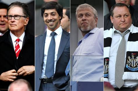 Epl Owners | premier league s richest owners how much is your club s