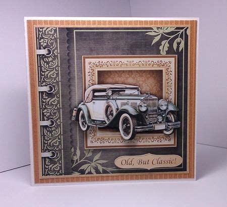 craftsuprint card 45 best car themed decoupage kits for images on