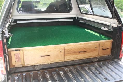 truck bed drawers plans beautiful homemade truck vault bug out vehicle stuff