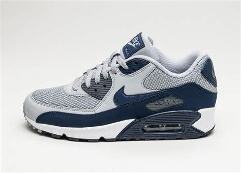 Nike Air Max 90 Grey Blue nike air max 90 essential wolf grey binary blue