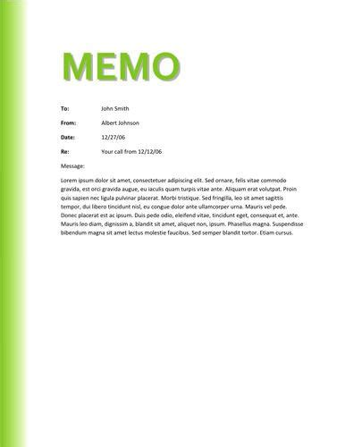color memo template sles for creating office memo vlashed