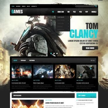 игровые Html шаблоны Allegespiritual Csgo Website Template
