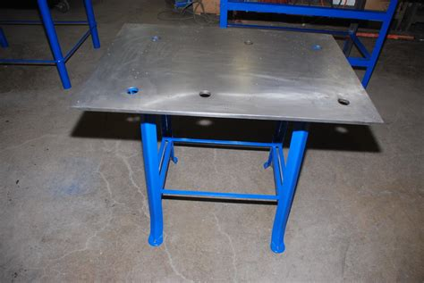 welding bench top unused 38x31 5 27h 1 2 precision ground top layout welding