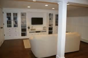 Ikea Basement Ideas by Basement Renovation Traditional Basement Boston By
