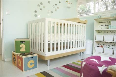 real room tour cordelia s calm and colored nursery