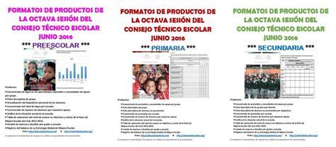 formatos de productos y material para la sexta sesin de cte marzo formatos de los productos de la octava sesi 243 n del consejo