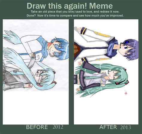 draw this again meme template draw this again meme by natsune squirrel on deviantart