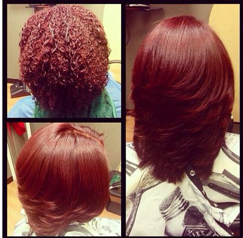 how to flat iron short layered hair another exle of how versatile natural hair is from