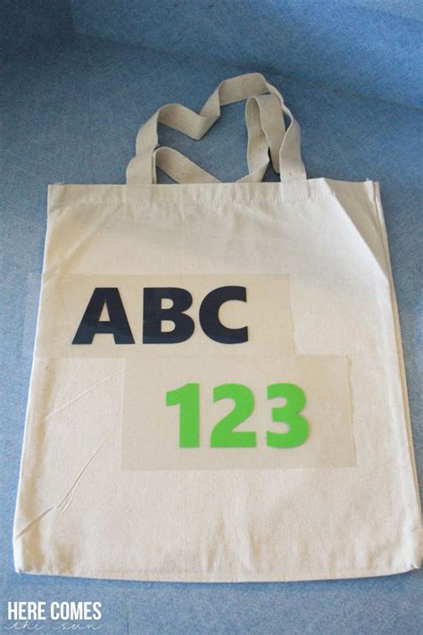 diy canvas here comes the sun diy tote bag with heat transfer vinyl here comes the sun