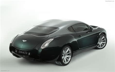concept bentley bentley gtz zagato concept widescreen car