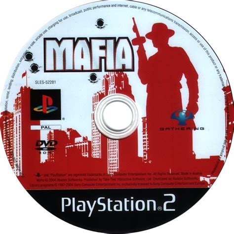 Mafia Ii Ps3 Cd mafia 2004 playstation 2 box cover mobygames