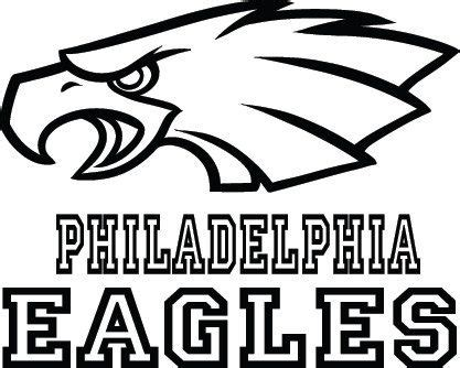 philadelphia eagles football logo name custom by
