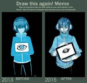 draw this again meme template draw this again meme by vuve on deviantart