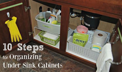 steps for organizing kitchen cabinets 10 steps for organizing under sink kitchen cabinets