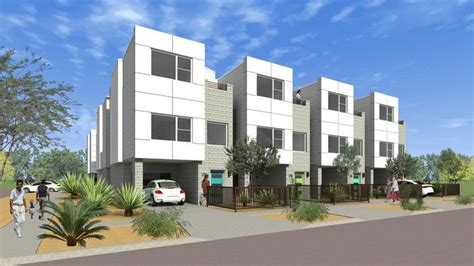 Townhome Floorplans terramark urban homes to build third townhome project in