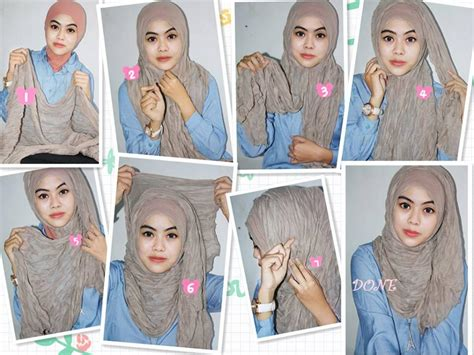 tutorial hijab in style modern hijab tutorial arabian style hijabiworld