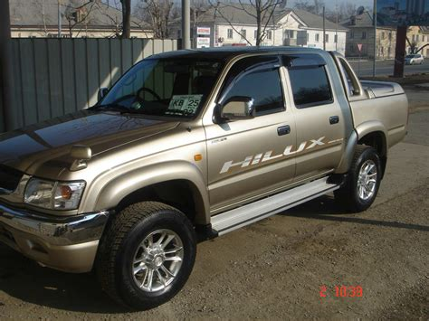 Toyota Up Hilux 2002 Toyota Hilux Up Images 2700cc Gasoline