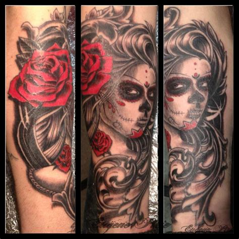 Tattoo Black And Grey With Colour | colour tattoo archives eugene pirie tattoos eugene