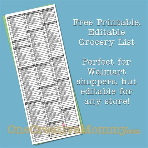 make your own printable shopping list 17 best shopping list templates printables images on