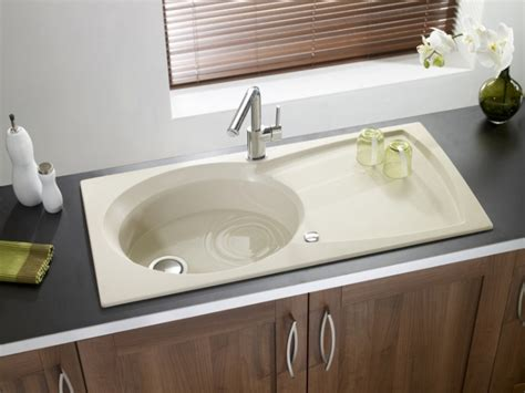 beige kitchen sinks granite sink astracast ellipse beige your kitchen broker