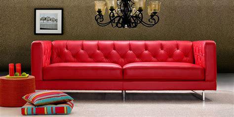 divano in pelle rosso divano in pelle divano in tessuto modello cartier