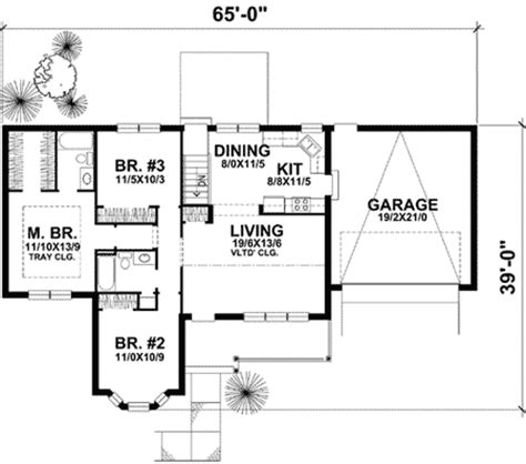 Home Floor Plan Tour Country House Plan With Tour 73220hs 1st Floor