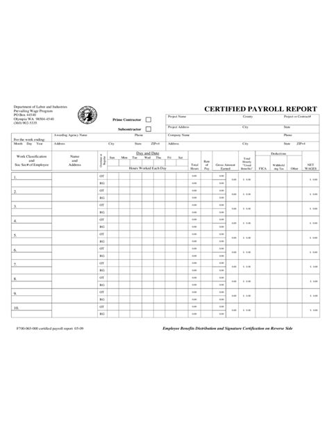 Certified Payroll Form 31 Free Templates In Pdf Word Excel Download Certified Payroll Template