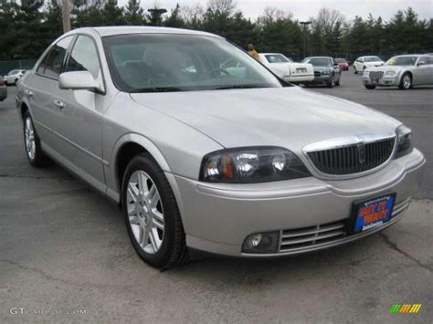 silver ls with white shades 2004 silver birch metallic lincoln ls v8 12244458