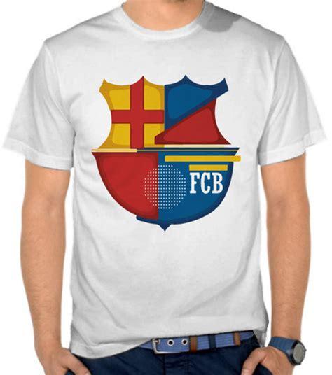 Kaos Bola Spanyol jual kaos barcelona logo simple liga spanyol satubaju