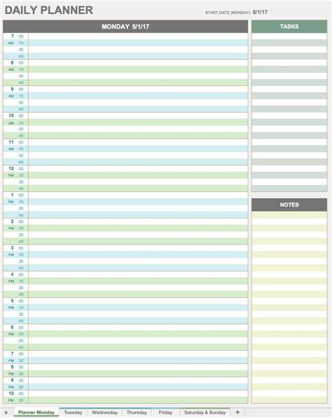 time management daily planner templates 28 free time management worksheets smartsheet
