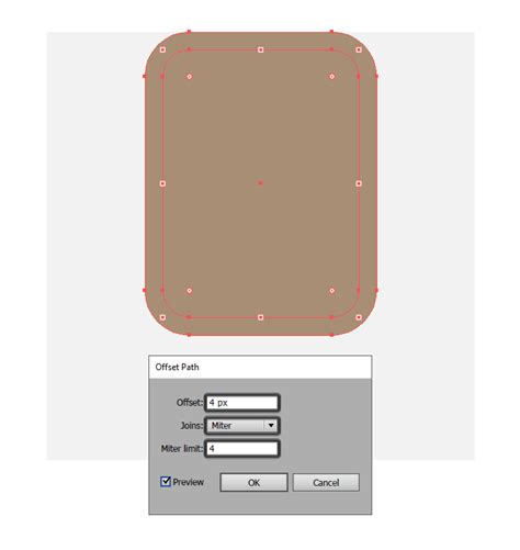 Outline Offset Radius by How To Create A Set Of Icons Free Adobe Illustrator Tutorial