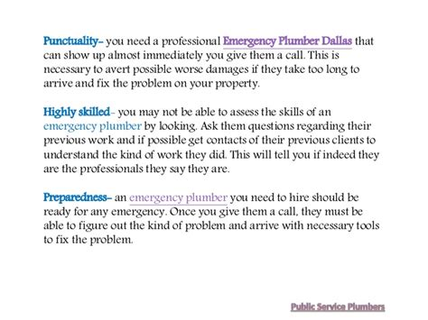 Indeed Plumbing by Emergency Plumber Dallas Why It Is Crucial To Hire These