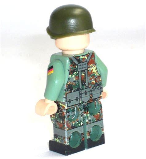 Lego Aufkleber Selbst Drucken by Custom Figur Deutscher Bundeswehr Soldat Aus Lego 174 Teilen