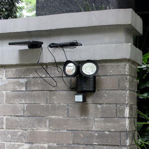 solar powered motion detector light solar powered led motion detector security light
