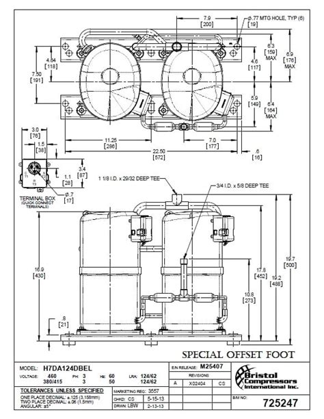 bristol compressor wiring diagram wiring diagram